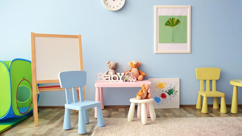 Omyvatelná barva do dětského pokoje
